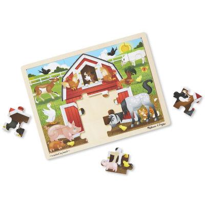 Melissa & Doug® Barnyard Jigsaw 24pc