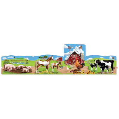 Melissa & Doug® Farm Linking Floor Puzzle (96 pc)