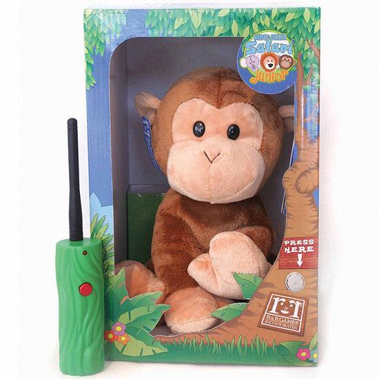 Hide And Seek Safari Jr Moki The Monkey 2 Pc Electronic Learning