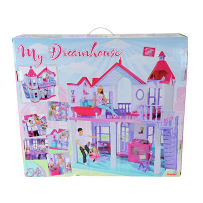 Simba Toys - Steffi Love, My Dreamhouse with 4 Rooms