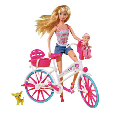 Simba Toys - Steffi Love Bike Tour with Bike and Doll