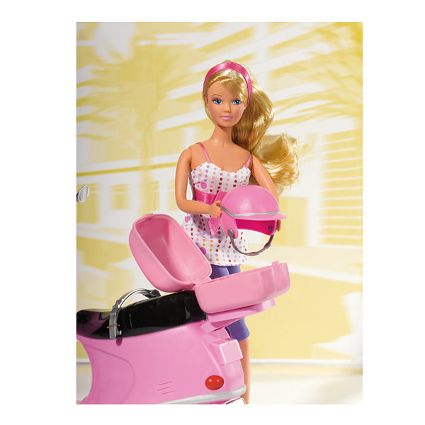 Simba Toys -  Steffi Love Chic City Scooter with Doll