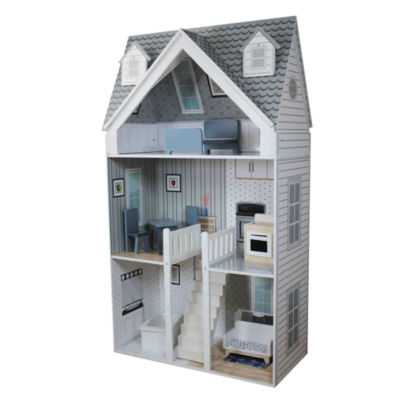 Teamson Kids - Deluxe City Doll House for 11.5 Inch Dolls