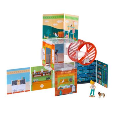 Wonderhood - Pet Place Creative Building Set