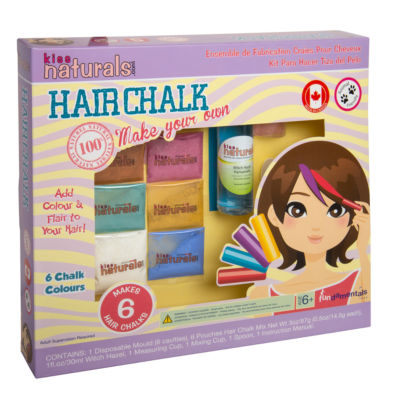 Fundamentals Toys - Kiss Naturals DIY Hair Chalk Making Kit