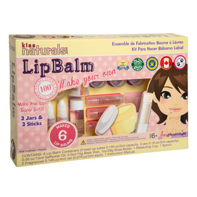 Fundamentals Toys - Kiss Naturals DIY Lip Balm Making Kit