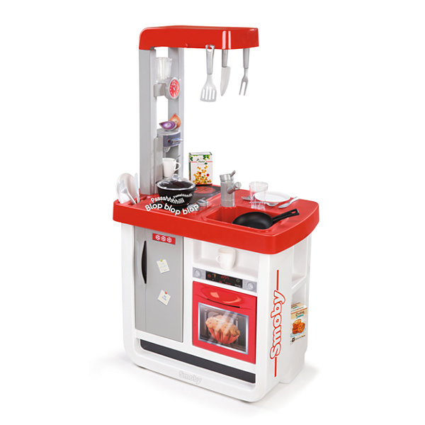 Smoby - Bon Appetite Electronic Play Kitchen with 23 Accessories and Cooking Sounds