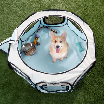 Petmaker Portable Pop Up Pet Play Pen with carrying bag