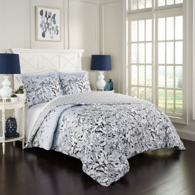 Marble Hill Danica 3-pc. Reversible Comforter Set
