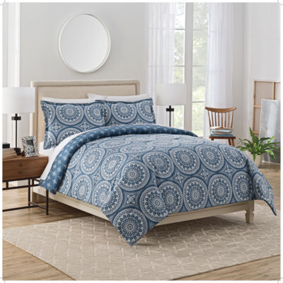 Marble Hill Harley 3-pc. Reversible Comforter Set