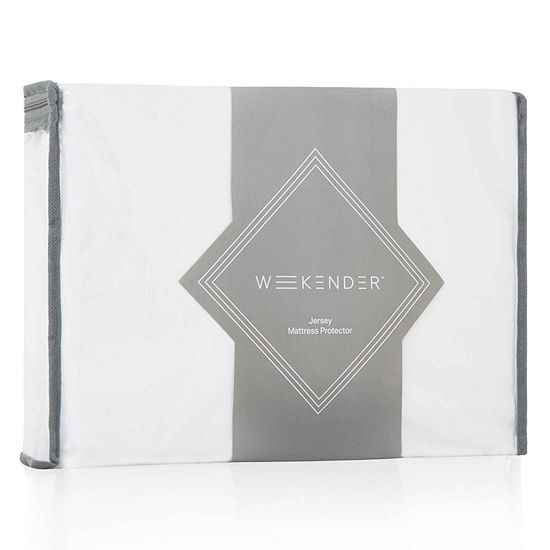 WEEKENDER Fitted Jersey Mattress Protector