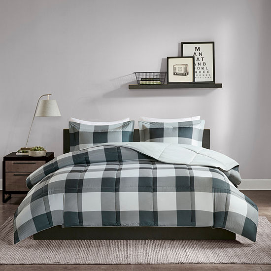 Madison Park Essentials Brooks Down Alternative Lightweight Comforter Set