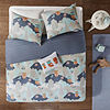 INK+IVY Luna Cotton Hypoallergenic Duvet Cover Set