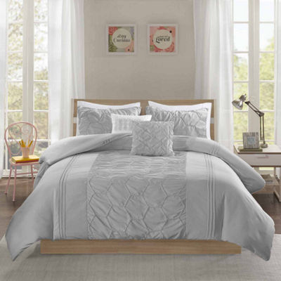 Intelligent Design Shayda Ultra Soft Microfiber Duvet Cover Set