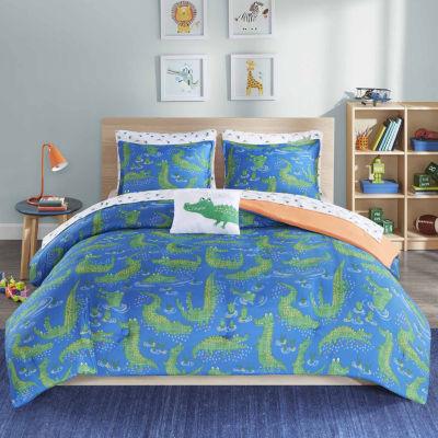 Later Alligator Ultra Soft Microfiber Comforter Set