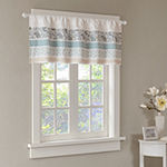 Madison Park Vanessa Rod-Pocket Tailored Valance