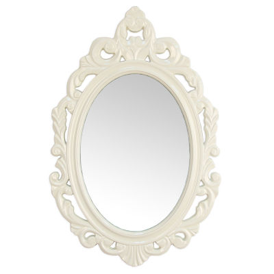 White Baroque Mirror Wall Mirror