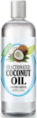 Healing Solutions Fractionated Coconut Oil (Carrier Oil) (16oz)