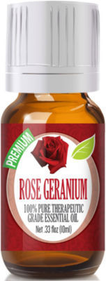 Healing Solutions Rose Geranium Essential Oil