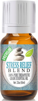 Healing Solutions Stress Relief Blend Essential Oil