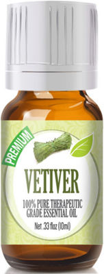 Healing Solutions Vetiver Essential Oil