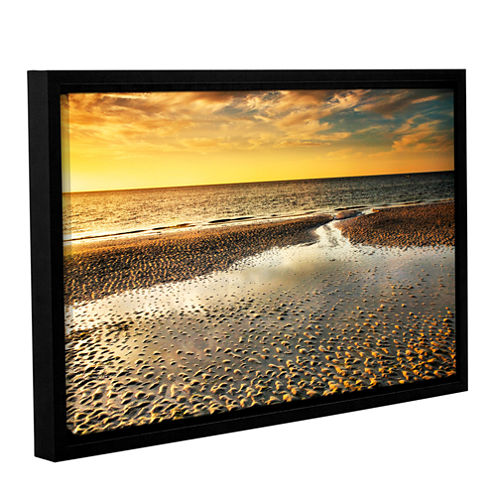Brushstone Returning Home Gallery Wrapped Floater-Framed Canvas Wall Art