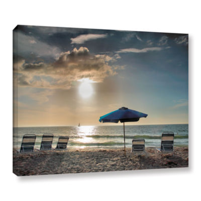 Brushstone Tropical Ease Gallery Wrapped Canvas Wall Art