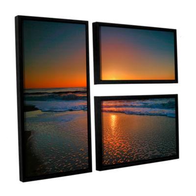 Brushstone Morning Has Broken II 3-pc. Flag Floater Framed Canvas Wall Art