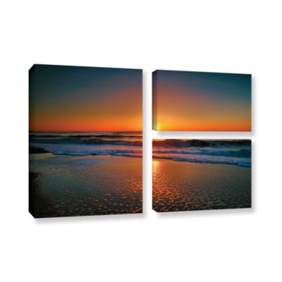 Brushstone Morning Has Broken II 3-pc. Flag Gallery Wrapped Canvas Wall Art