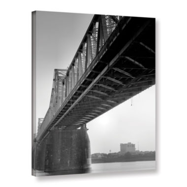 Brushstone Under the Bridge Gallery Wrapped Canvas Wall Art