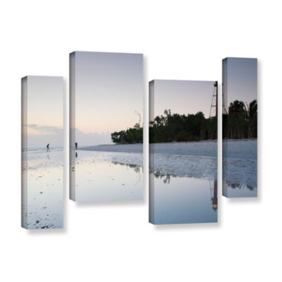 Brushstone Sanibel Lighthouse 4-pc. Gallery Wrapped Staggered Canvas Wall Art