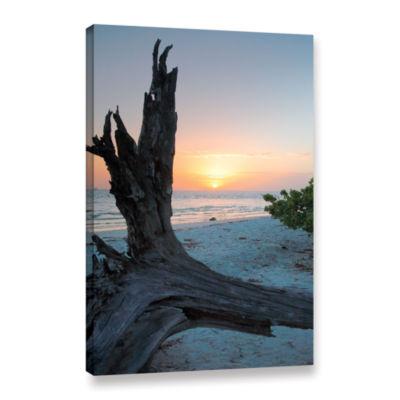 Brushstone Sanibel Sunrise I Gallery Wrapped Canvas Wall Art
