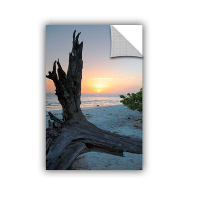 Brushstone Sanibel Sunrise I Removable Wall Decal