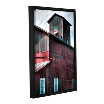 Brushstone Old Granary Gallery Wrapped Floater-Framed Canvas Wall Art