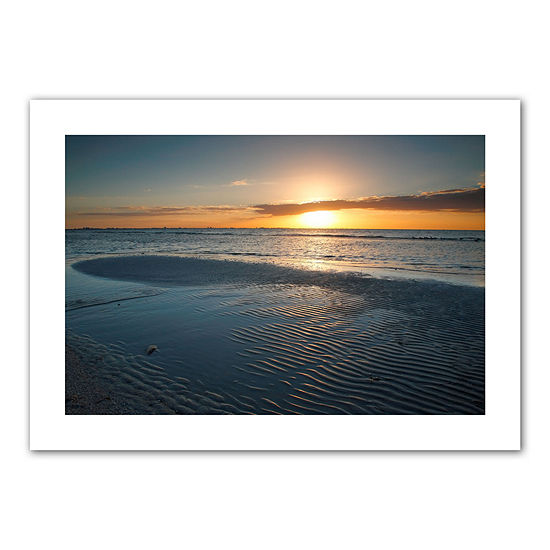 Brushstone Sanibel Sunrise II Canvas Poster Wall Art