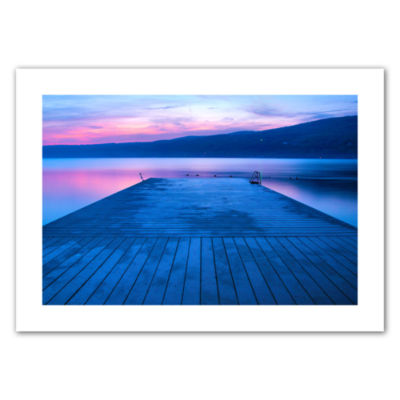Brushstone Waiting for Dawn Canvas Poster Wall Art