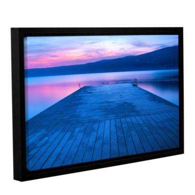 Brushstone Waiting for Dawn Gallery Wrapped Floater-Framed Canvas Wall Art