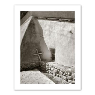 Brushstone Pilgrim's Cross Canvas Poster Wall Art