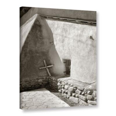 Brushstone Pilgrim's Cross Gallery Wrapped CanvasWall Art