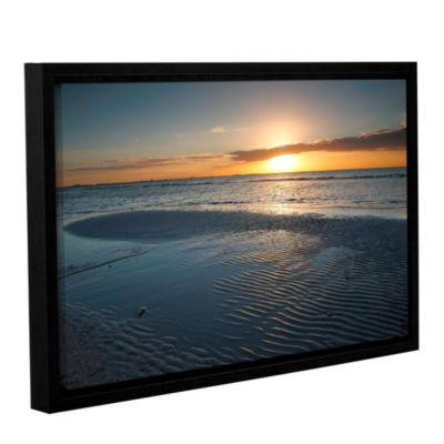 Brushstone Sanibel Sunrise II Gallery Wrapped Floater-Framed Canvas Wall Art