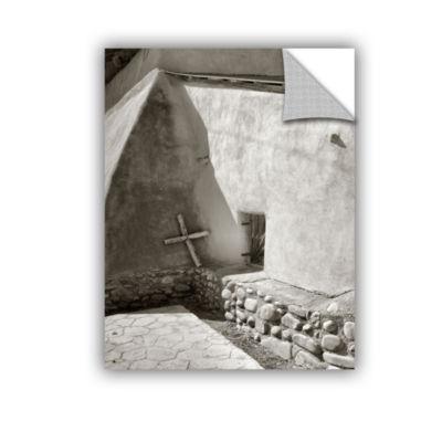 Brushstone Pilgrim's Cross Wall Decal