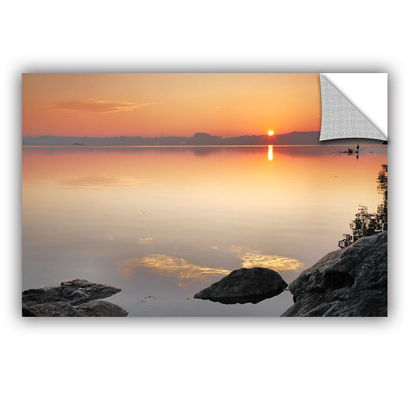 Brushstone Potomac Sunrise Removable Wall Decal