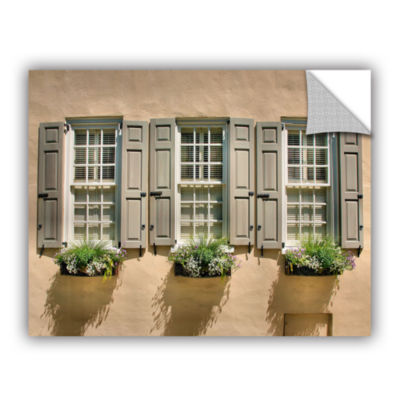 Brushstone Windows of Old Charleston Removable Wall Decal