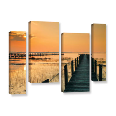 Brushstone Quiet Time 4-pc. Gallery Wrapped CanvasStaggered Set