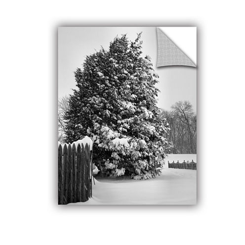 Brushstone Winter's Silence Removable Wall Decal