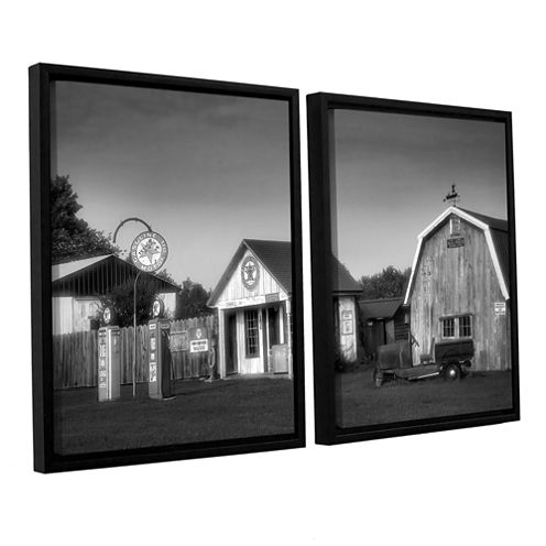 Brushstone Relics of the Past 2-pc. Floater FramedCanvas Wall Art