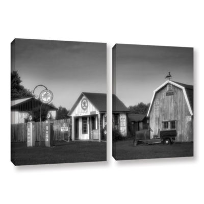 Brushstone Relics of the Past 2-pc. Gallery Wrapped Canvas Wall Art