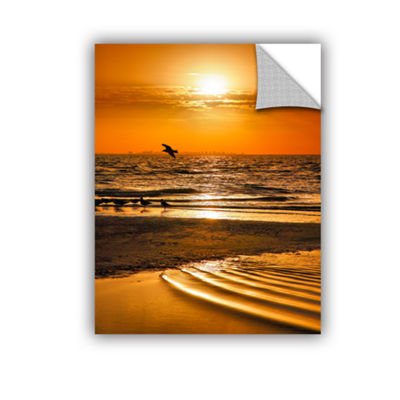 Brushstone Sanibel Sunrise III Removable Wall Decal