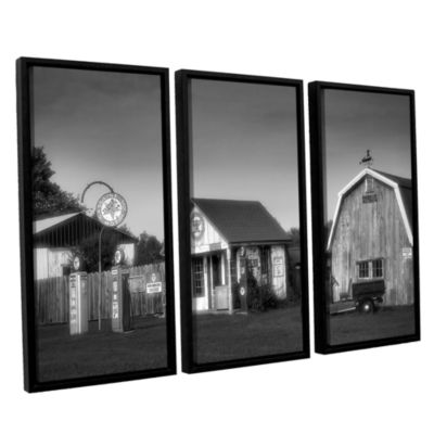 Brushstone Relics of the Past 3-pc. Floater FramedCanvas Wall Art