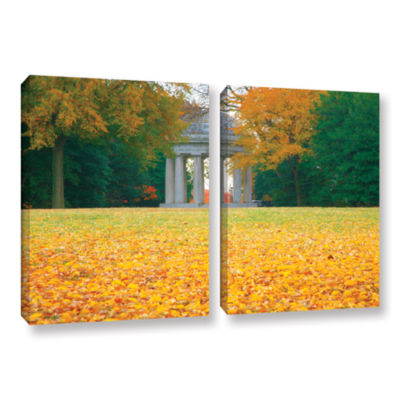 Brushstone Remembrance 2-pc. Gallery Wrapped Canvas Wall Art